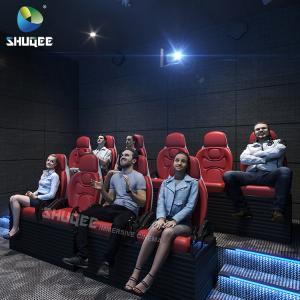 China Luxury 4D 5D 6D 7D XD Cinema Electric Movie Theater Motion Seats Amusment Park wholesale