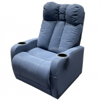 China Synthetic Leather Home Theater Seating VIP Sofa With Electric Pedal wholesale