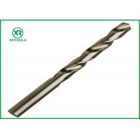 China Bright Finish HSS Drill Bits For Hardened Steel DIN 338 Straight Shank Left Hand wholesale