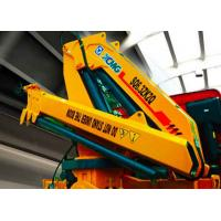 China Hydraulic  6300kg XCMG Truck Mounted Knuckle Boom Crane, Truck Mounted Crane wholesale