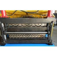 Buy cheap Double Layer Roll Forming Machine , Galvanised Steel Roof Panel Making Machine from wholesalers