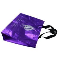 Buy cheap Shining Non Woven Carry Bags Reusable With Screen Printing Logo tape Handle from wholesalers