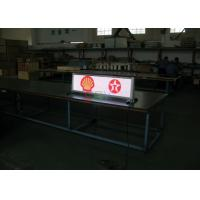 China Digital Taxi Led Display Taxi Roof Top Signs 3G P5mm outdoor SMD2727 for Taxi Roof LED Display wholesale
