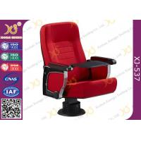 China PU Molded Foam Anti Stained Meeting Hall Chairs With Acoustical Board Damping Recovery wholesale