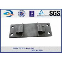 China Railway Cast Iron Base Sole Rail road Plates Steel Tie Plate wholesale