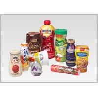 Food Packaging Shrink Wrap Bottle Labels PVC PET Shrink Films Material For Wine Bottles