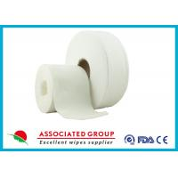 China Cross Lapping Spunlace Non Woven Roll on sale