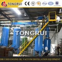 Green technology waste engine oil recycling machine for Used motor oil recycling process