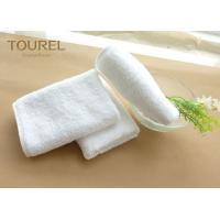 China Soft Comfortable Cotton Hotel Face Anti Bacteria Plain Standard Textile Towels wholesale