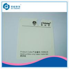 China Pantone Printed Self Adhesive Labels , Silk Screen Printing Destructive Vinyl Stickers wholesale
