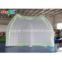 China Portable Inflatable Photo Booth Background Wall With Led Light Strip For Events on sale