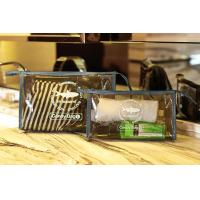 China PVC Travel Kit Zipper Pouch Transparent Vinyl Make-up Pouch for Swimming and Beach wholesale
