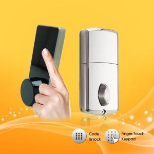 China Durable Password Door Lock , App Controlled Door Lock With Emergency Mechanical Key wholesale