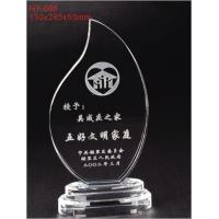 China Clear Elegant Contemporary Full - Colors Weatherability Custom Acrylic Award With Sgs Standards wholesale