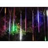 China RGB / Blue LED Meteor Shower Rain Tube Lights 100-240v 10pcs / Set 50cm For Landscape wholesale