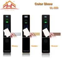 China Home Automation RFID Card Door Lock With Optical or Capacitive Fingerprint Sensor wholesale