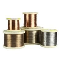 Buy cheap CuNi10 / Alloy90 Heat Resistant Copper Alloys Wire For Electric Blankets from wholesalers