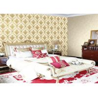 China Waterproof Modern Deep Embossed Wallpaper Flower Pattern For Home Decor wholesale