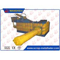 Buy cheap Heavy Scrap Metal Compactor HMS1&2 Baling Press Side Push Out 500x500 Bale size 5Ton/h from wholesalers