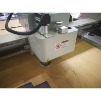 Buy cheap Oscillating Knife Leather Composite Cutting Machine , Flatbed Digital Cutter from wholesalers