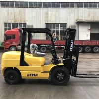 Buy cheap Yellow LTMA Counterbalance Forklift Truck , 3.5 Ton Environmental Industrial Lift Truck from wholesalers