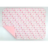 China Wipeable Non Toxic Baby Changing Pad Fold Up Changing Mat PE Waterproof Layer wholesale