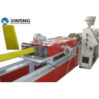 China Jiangsu Flat Corrugated Pipe Making Machine , Plastic Pipe Production Line  wholesale