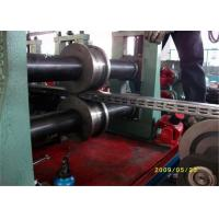 China Shelf Standing Rack Steel Roll Forming Machine 60mm Roller Axis Spot Welding wholesale