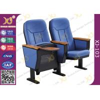 China 560mm Center Distance Fabric Cushion Commercial Theater Seating Chairs For Meeting Room wholesale