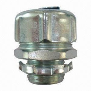 China Liquid Tight Straight Connector, NPT Thread, UL/cUL Listed, Conduit Fittings wholesale
