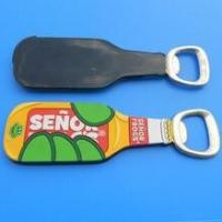 China Custom  SENOR FROGS 3d Soft PVC Bottle Shaped Bottle Opener For Company Anniversary Gifts wholesale