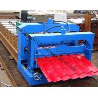 Metal Roof / Color Steel Glazed Roofing Tile Cold Making Machine Hydraulic