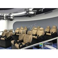 China SGS Certificate 5D Movie Theater Experience With Simulator System For Entertainment Center wholesale