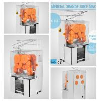 China 220V Commercial Orange Juicer Machine Stainless Steel Fruit Squeeze Juicer wholesale