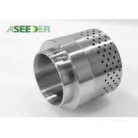 China Stable Performance Tungsten Carbide Valve Components Valve Assembly HRA 90 Degree wholesale