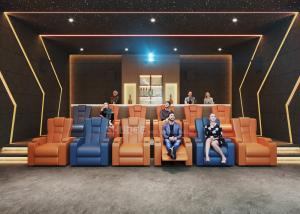 China Western Home Cinema System With Recliner Sofa / Speakers / Projector / Screen wholesale