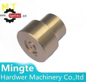 China Customed made brass lathe turning glue dispenser robot parts / brass cnc machining parts wholesale