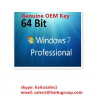 Buy cheap OEM Windows 7 Product Activation Key For Windows 7 Professional OEM Key from wholesalers