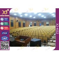 China High School Lecture Hall Seating Metal Folding High Density Multilayer Board wholesale