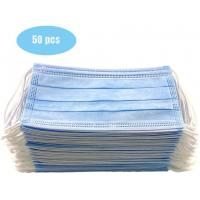 China Anti Allergic Materials Eco Friendly 3 Ply Non Woven Face Mask wholesale