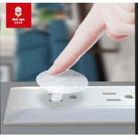 Clear Child Safety Socket Covers / Outlet Plug Socket Covers Electric Protect