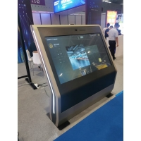 """China 1.8Ghz 65"""" 110W Wayfinding Information Touch Screen Kiosk wholesale"""