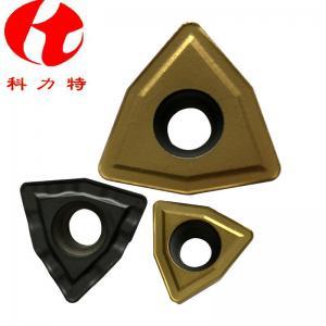 China WCMX Muti - Face U Drill Inserts Tungsten Carbide Materials Long Lifetime wholesale