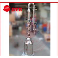 China 50L / 100L Mini Steam Home Distillation Equipment Semi-Automatic CE wholesale