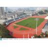 China Venus Surface Outdoor Playground Flooring , Soft Playground Padding Material wholesale