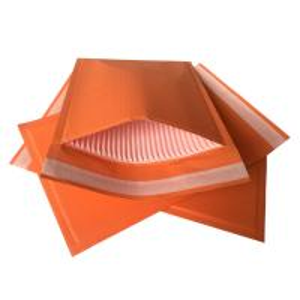 China Custom Orange Rigid Cardboard Envelopes , Self Seal Envelopes Light Weight wholesale