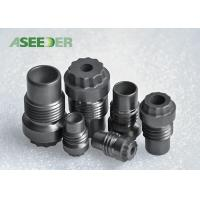 China Hard Alloy Cross Goove Thread Nozzle / Strong Cemented Carbide Nozzle wholesale