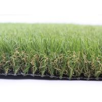 16800 Density Landscaping Artificial Grass 40MM Diamond Shape Synthetic Garden Grass