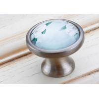China Round Wardrobe Door Cabinet Drawer Pulls For House / Building , Lightweight wholesale