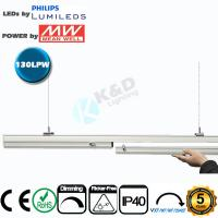 Quality 5ft 70W Linkable LED Linear Lighting High CRI IP54 LED Linear Fixture for sale